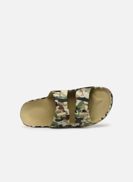 Sandales et nu-pieds MOSES Army M Vert vue gauche