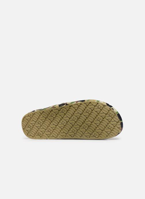 Sandales et nu-pieds MOSES Army M Vert vue haut