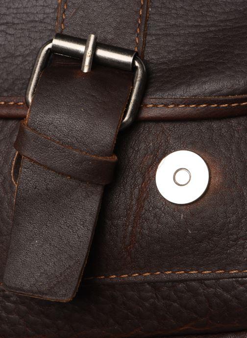 Herrentaschen Aperture Alexandre braun ansicht von hinten