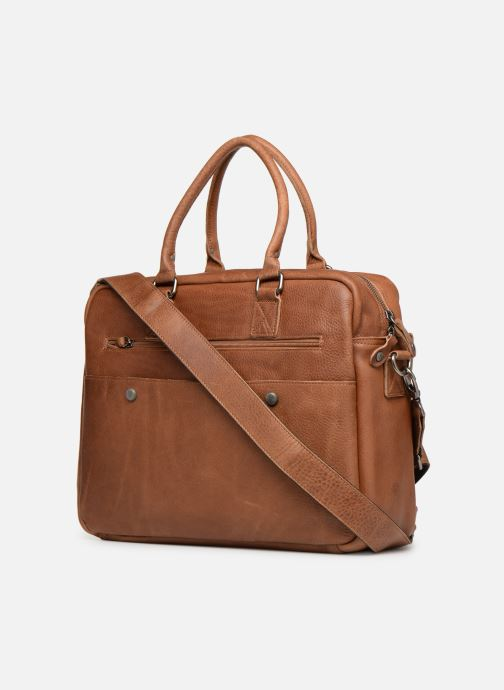 Men's bags Aperture Antoine Brown view from the right