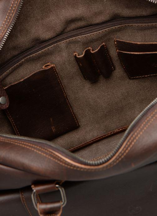 Herrentaschen Aperture Antoine braun ansicht von hinten