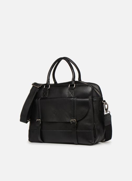 Herrentaschen Aperture Antoine schwarz schuhe getragen