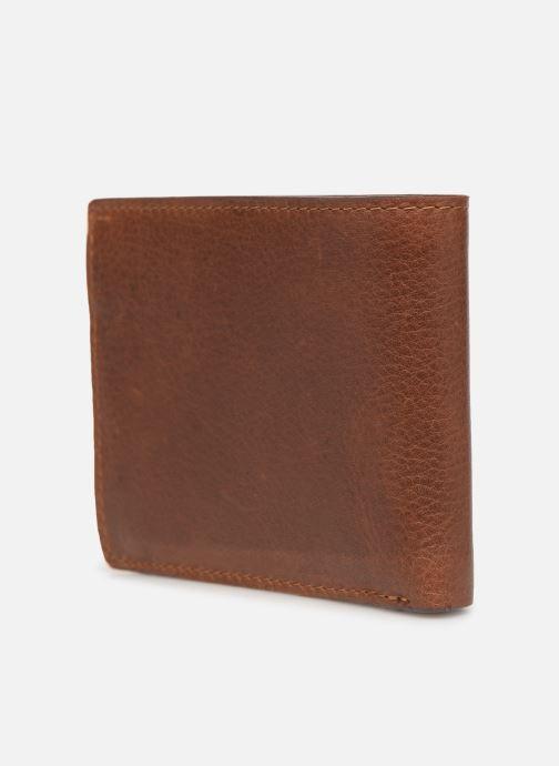 Portemonnaies & Clutches Aperture Louis braun ansicht von rechts