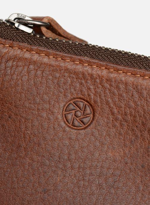 Portemonnaies & Clutches Aperture Noé braun ansicht von hinten