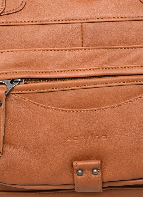 Handbags Sabrina Camille_C Brown view from the left