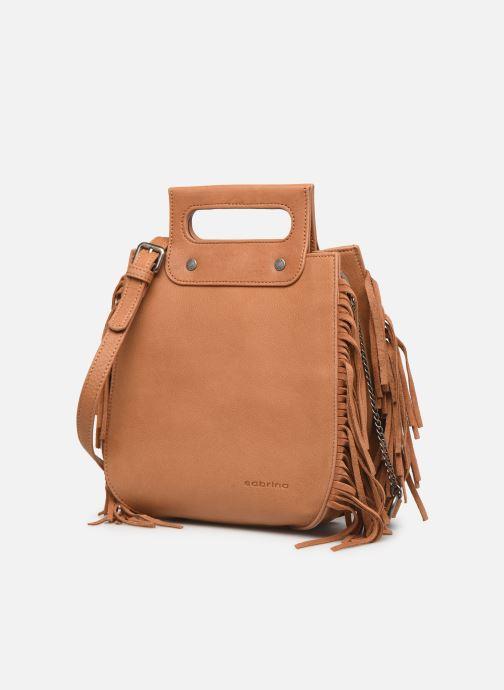 Handtaschen Sabrina Blair braun schuhe getragen