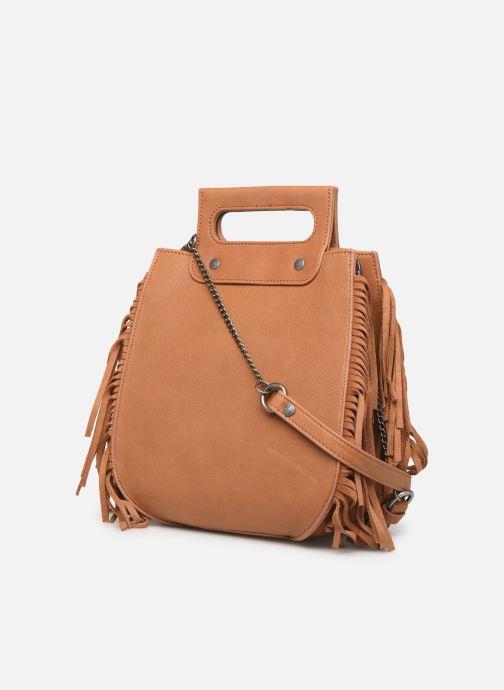 Handtaschen Sabrina Blair braun ansicht von rechts