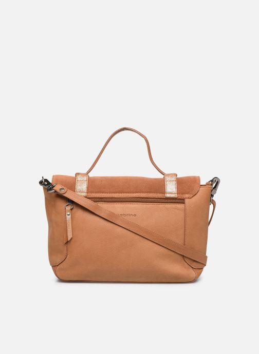 Handtaschen Sabrina Caroline braun ansicht von vorne