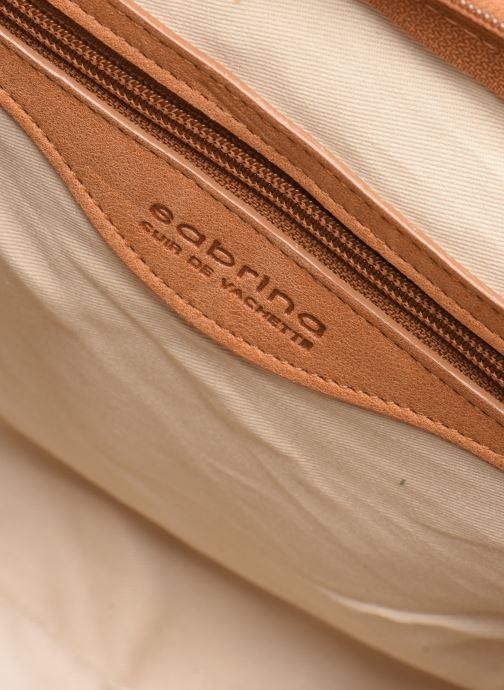 Handtaschen Sabrina Caroline braun ansicht von hinten