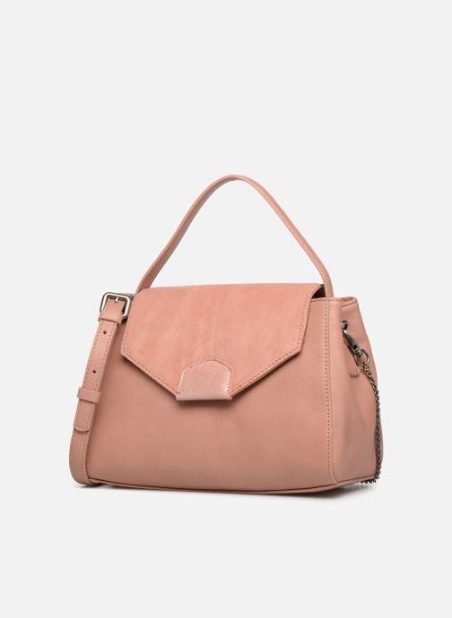 Handtaschen Sabrina Elena rosa schuhe getragen