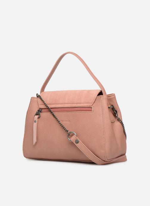 Handtaschen Sabrina Elena rosa ansicht von rechts