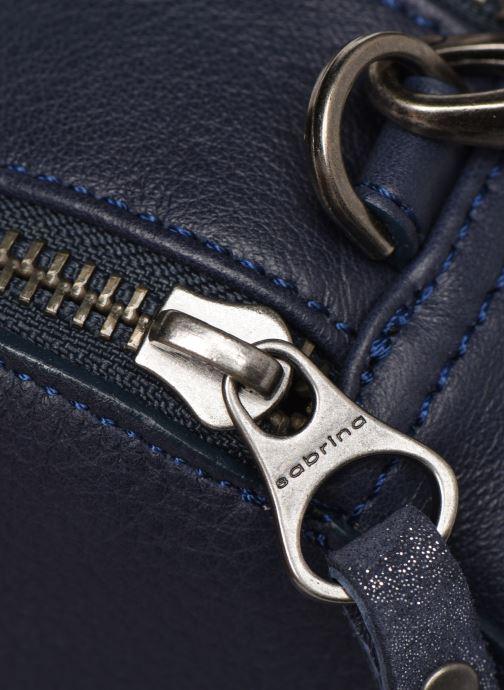 Bolsos de mano Sabrina Elisabeth Azul vista lateral izquierda