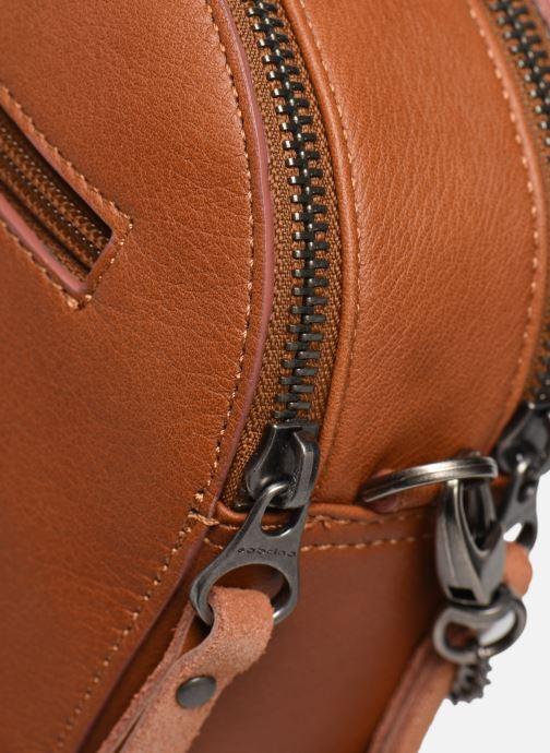Bolsos de mano Sabrina Elisabeth Marrón vista lateral izquierda