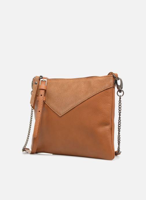Handtassen Sabrina Evelyne Bruin model