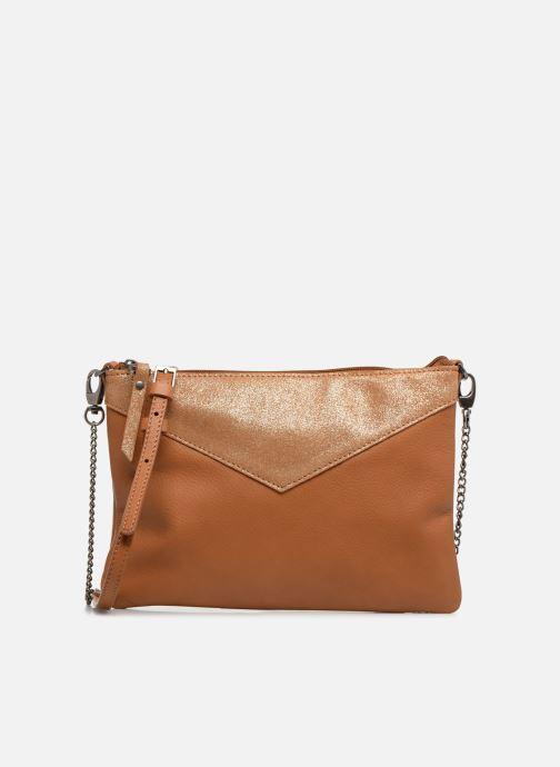 Handtassen Sabrina Evelyne Bruin detail