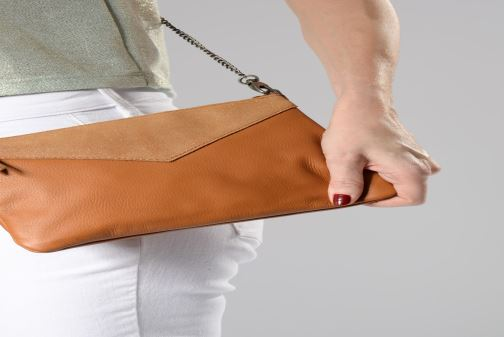 Handtassen Sabrina Evelyne Roze onder