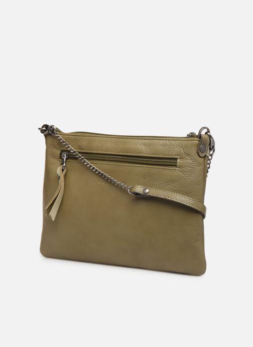 Handtaschen Sabrina Evelyne grün ansicht von rechts