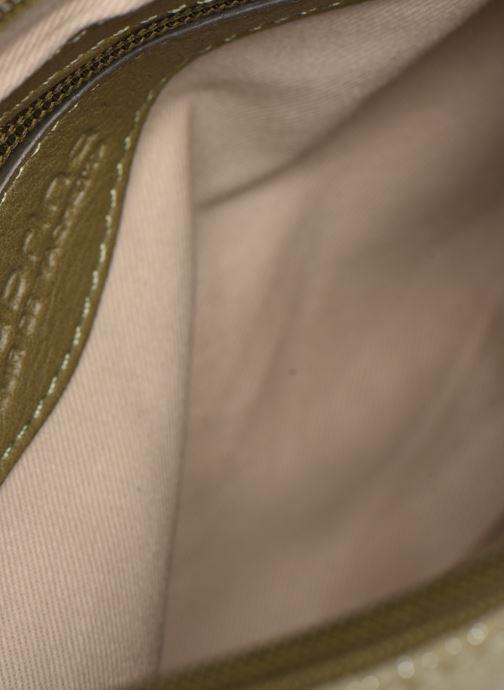 Handtaschen Sabrina Evelyne grün ansicht von links