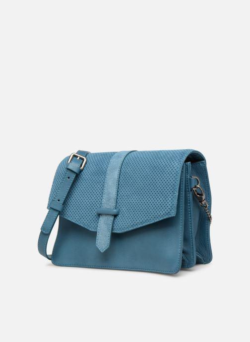 Handtaschen Sabrina Dorothée blau schuhe getragen