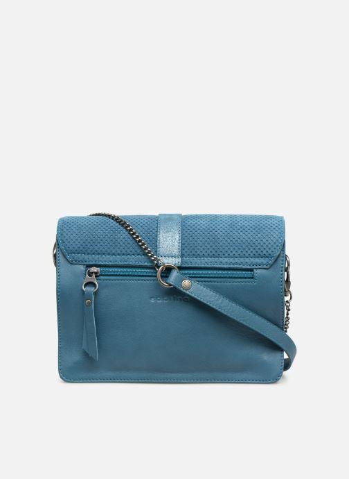 Handtaschen Sabrina Dorothée blau ansicht von vorne