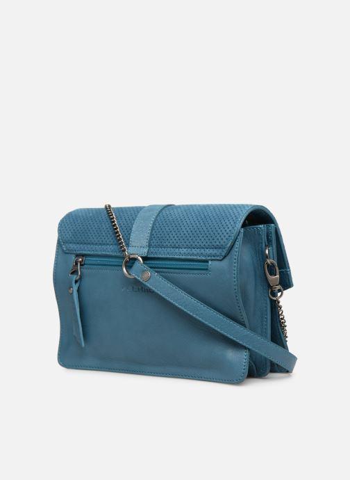 Handtaschen Sabrina Dorothée blau ansicht von rechts