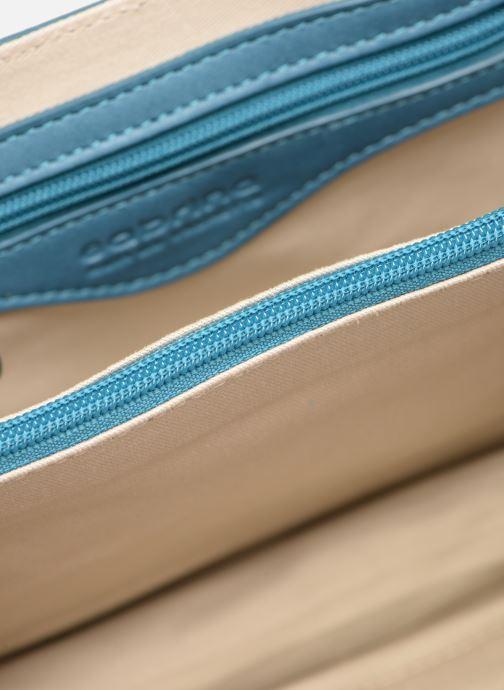 Handtaschen Sabrina Dorothée blau ansicht von hinten