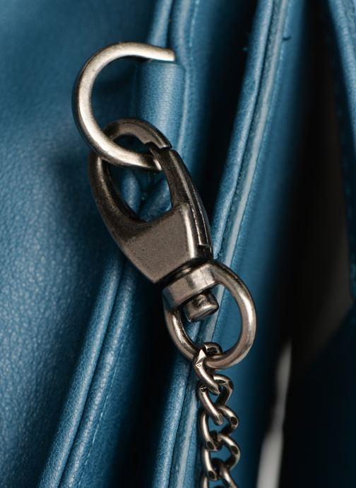 Handtaschen Sabrina Dorothée blau ansicht von links