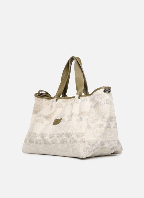 Handbags Sabrina Axelle Green model view