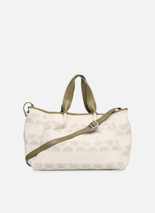 Handbags Sabrina Axelle Green front view