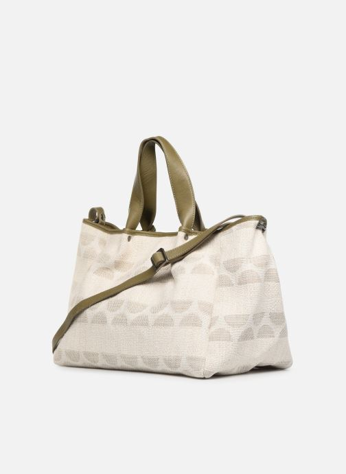 Handbags Sabrina Axelle Green view from the right