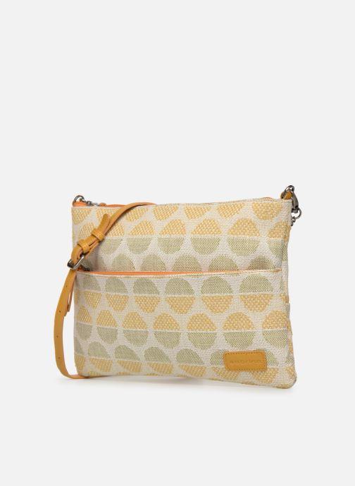 Handbags Sabrina Ambre Yellow model view