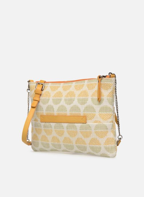 Handbags Sabrina Ambre Yellow view from the right