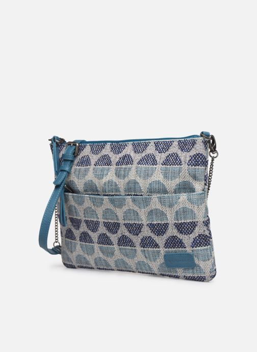 Handtaschen Sabrina Ambre blau schuhe getragen