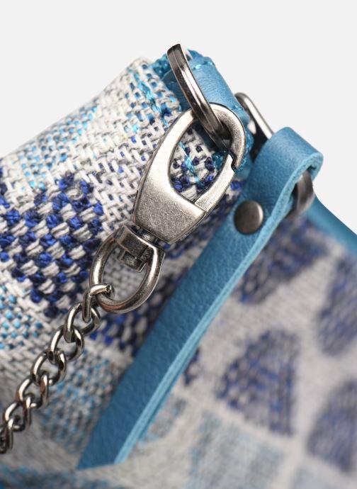 Handtaschen Sabrina Ambre blau ansicht von links