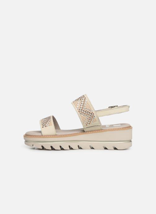 Sandales et nu-pieds Callaghan LONG BEACH Blanc vue face