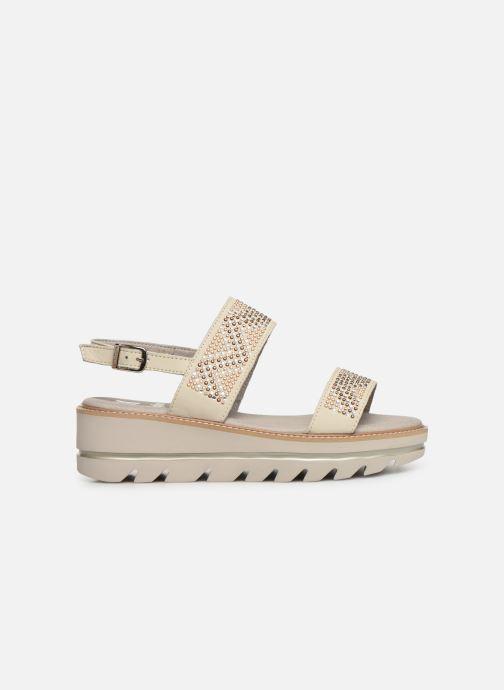 Sandales et nu-pieds Callaghan LONG BEACH Blanc vue derrière