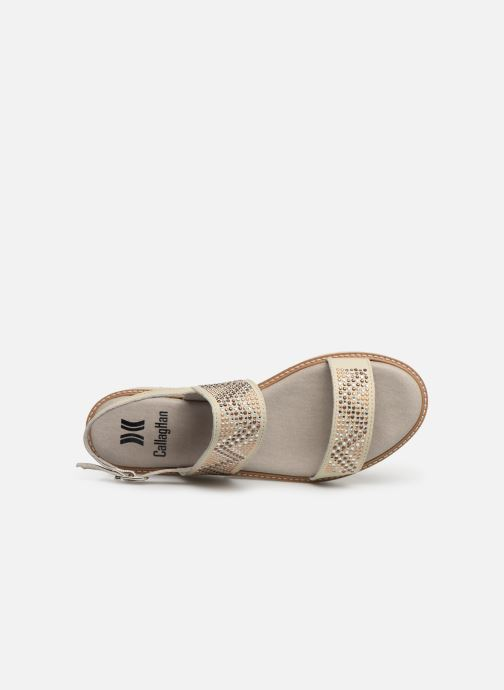 Sandales et nu-pieds Callaghan LONG BEACH Blanc vue gauche