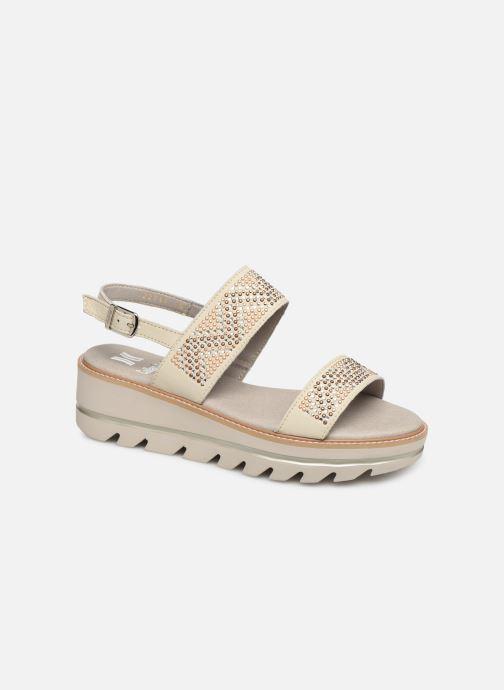 Sandales et nu-pieds Callaghan LONG BEACH Blanc vue détail/paire