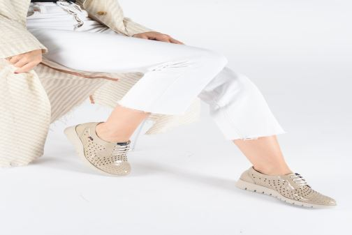 Zapatos con cordones Callaghan Haman 2 Beige vista de abajo