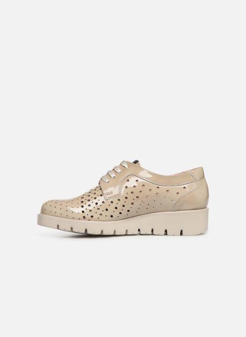 Zapatos con cordones Callaghan Haman 2 Beige vista de frente