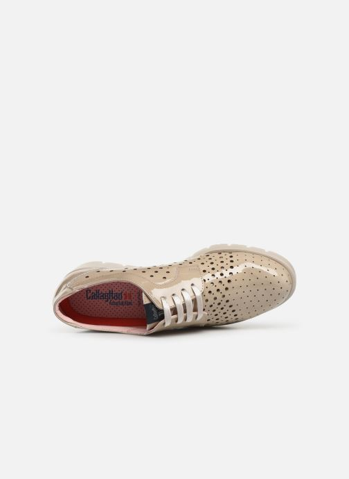 Chaussures à lacets Callaghan Haman 2 Beige vue gauche