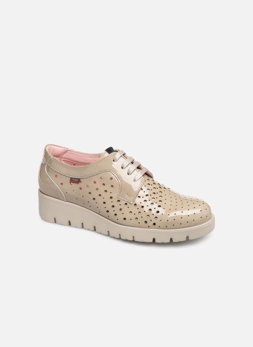 Zapatos con cordones Callaghan Haman 2 Beige vista de detalle / par