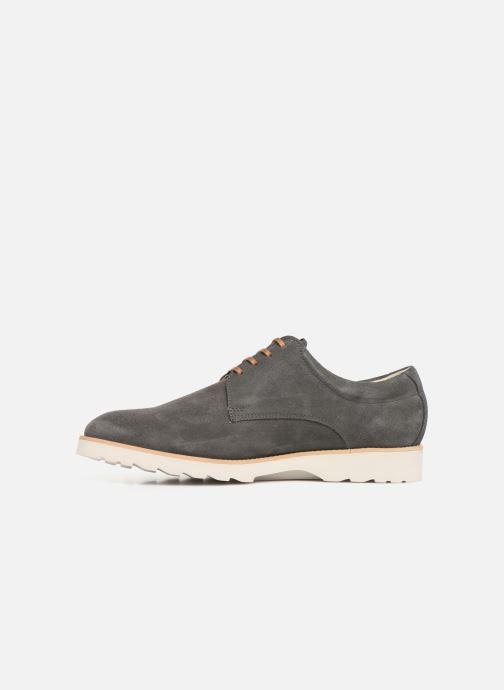 Zapatos con cordones Callaghan Meer Gris vista de frente