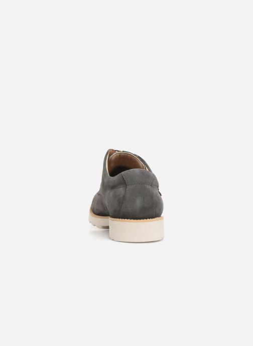 Zapatos con cordones Callaghan Meer Gris vista lateral derecha