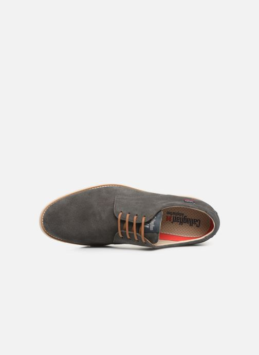 Zapatos con cordones Callaghan Meer Gris vista lateral izquierda