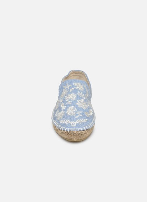 Espadrilles Banana Moon Iasmin Espadrille Bleu vue portées chaussures