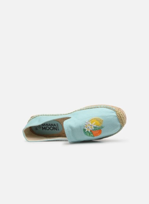 Espadrilles Banana Moon Lairis Espadrille Blue view from the left