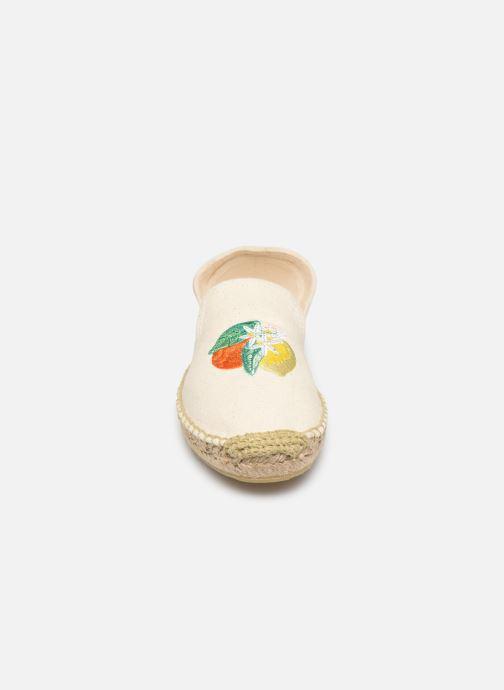 Espadrilles Banana Moon Lairis Espadrille Blanc vue portées chaussures