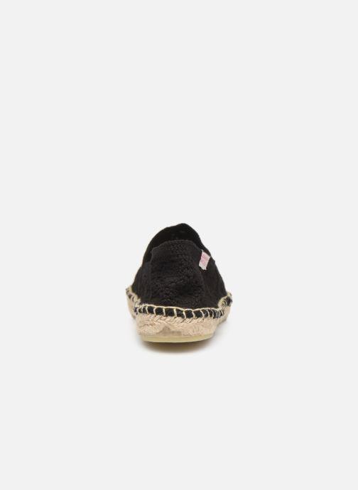 Alpargatas Banana Moon Niwi Espadrille Negro vista lateral derecha