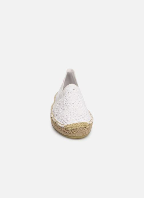 Espadrilles Banana Moon Niwi Espadrille Blanc vue portées chaussures